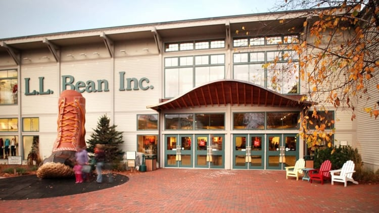 L.L.Bean's flagship store in Freeport, Maine, is the company's only store that sells guns. (Photo: L.L.Bean/Facebook)
