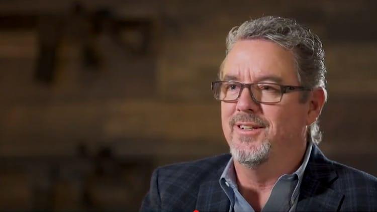 A screenshot of Daniel Defense owner Marty Daniel appearing in a company promo. (Photo: Daniel Defense via Youtube)