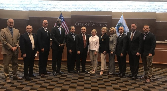 The cities of Coral Gables, Cutler Bay, Lauderhill, Miami Beach, Miami Gardens, Miramar, Pinecrest, Pompano Beach, South Miami and Weston want the power to be able to set their own gun laws (Photo: City of Weston)