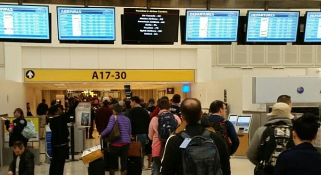 Last October, three officers with the Bellevue, Washington, Police Department had flown from Houston to Seattle on United Airlines, but when they landed found their guns had been stolen. (Photo: George Bush Intercontinental Airport, File)