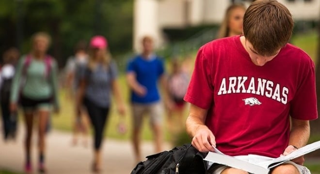 University of Arkansas officials as well as those from other colleges in the state said the first semester of campus carry went off without an issue. (Photo: University of Arkansas)