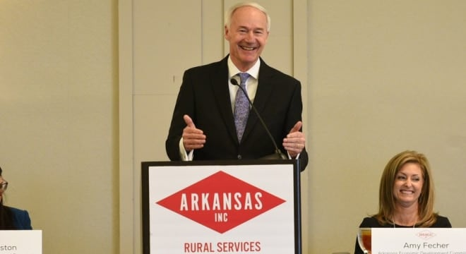 Incumbent Arkansas Gov. Asa Hutchinson refused to debate his GOP primary condenter and walked away with over two-thirds of the vote last week. (Photo: Arkansas Governor's Office)