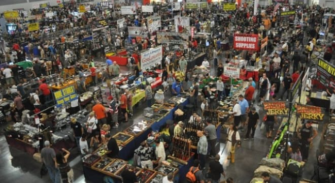 The Crossroads of the West gun show has operated out of Del Mar for over 25 years but may have to find other digs if local activists get their way. (Photo: Crossroads of the West)