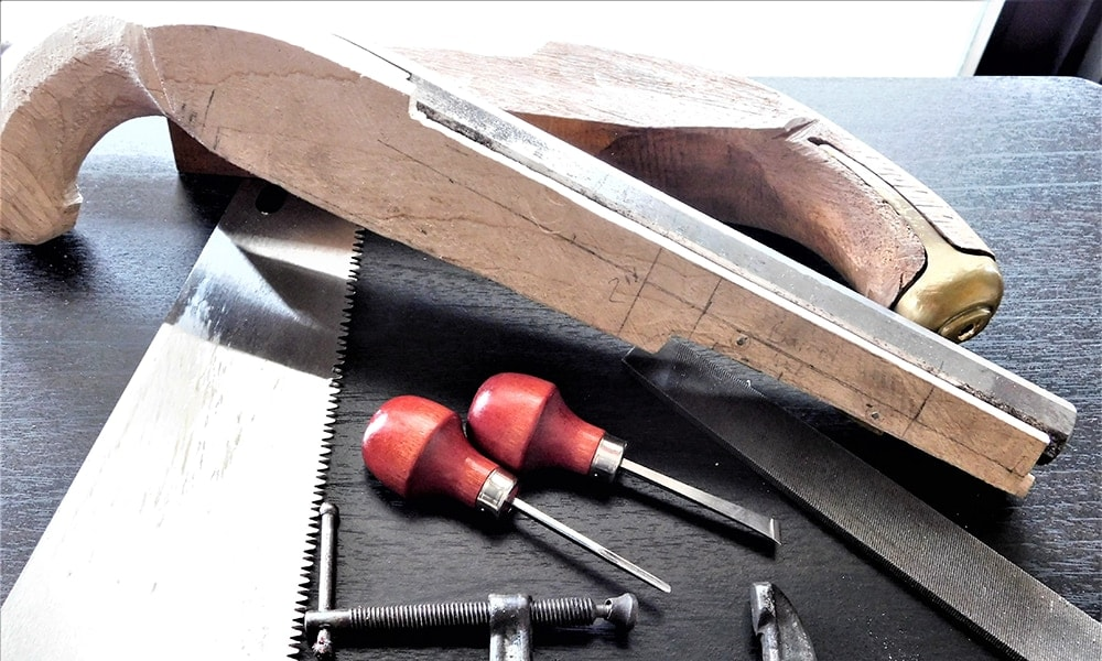 Building a muzzleloader: Tools needed for the task