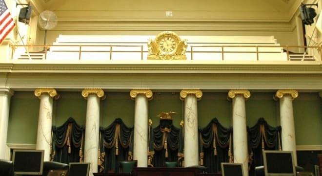 The Rhode Island Senate gave almost unanimous approval to a pair of gun control bills this week. (Photo: RI Senate)