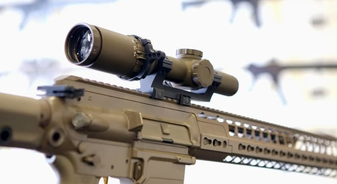 Sig's 1-6x24mm TANGO6 optic will top off a variant of the Heckler & Koch G28E rifle to serve as the Army's new SDMR, replacing legacy accurized M14 rifles. (Photos: Sig Sauer)