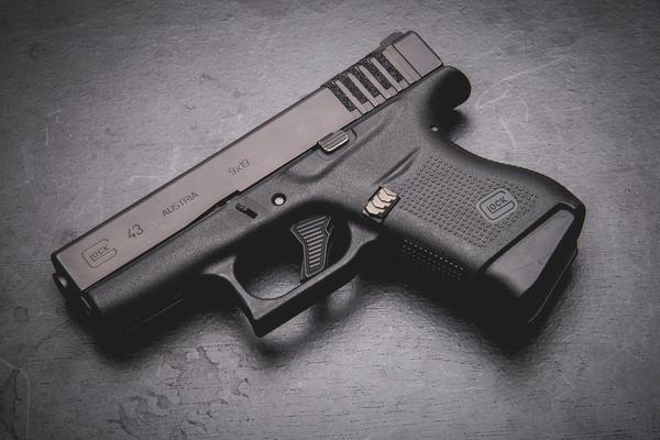 Tyrant CNC releases Glock 43 Extended Mag Release