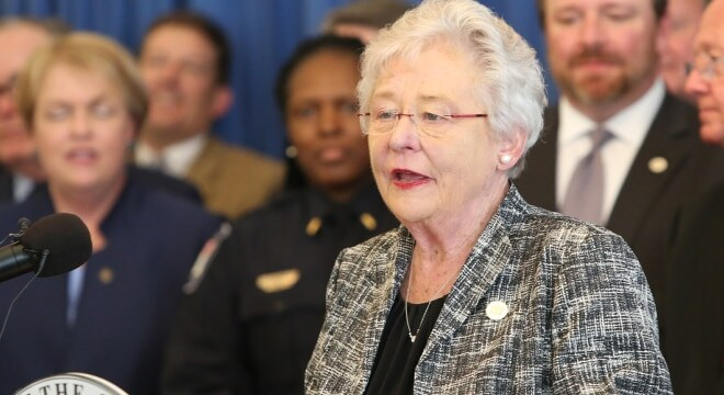 Republican Gov. Kay Ivey established the program as an additional security measure in schools that do not have a school resource officer (Photo: Governor's Office)