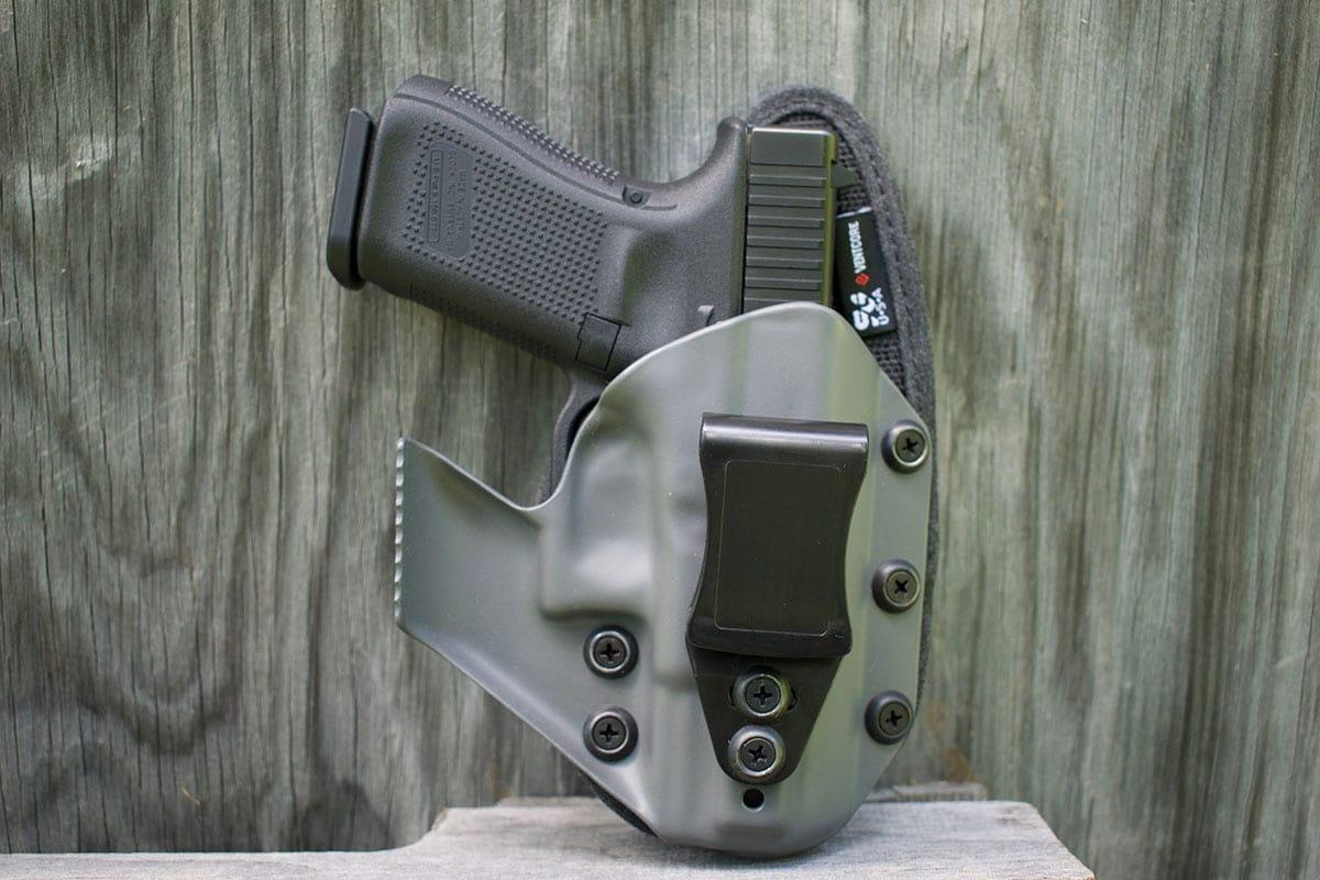 gun in a kydex holster