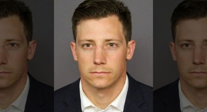 FBI agent Chase Bishop, 29, turned himself into Denver Police on Tuesday before he was formally charged by the DA's office. (Photo: Denver Police via Fox News)