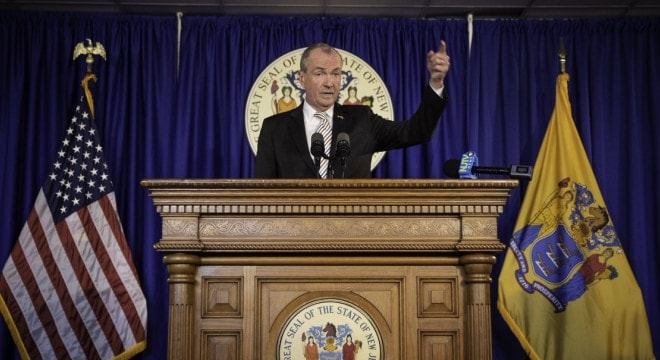 Gov. Phil Murphy's new budget could see licenses and permits associated with the buying and selling of firearms the target of big increases. (Photo: Governor's office)