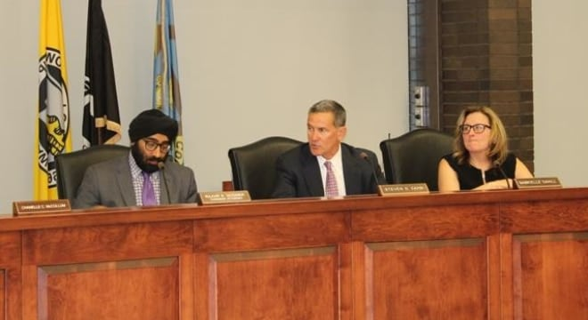The new zoning prohibits gun sales within 1,000 feet of churches, parks, schools and similar common places. (Photo: Piscataway Township)