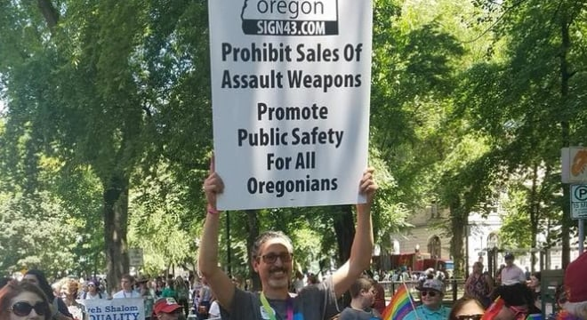 The Oregon Supreme Court is expected to rule on IP 43 as early as next week, at which point, if certified to proceed, organizers would face the challenge to collect 88,184 acceptable signatures in a matter of days. (Photo: Lift Every Voice Oregon)
