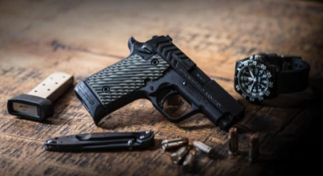 Springfield Armory now shipping 911  380 with black nitride finish