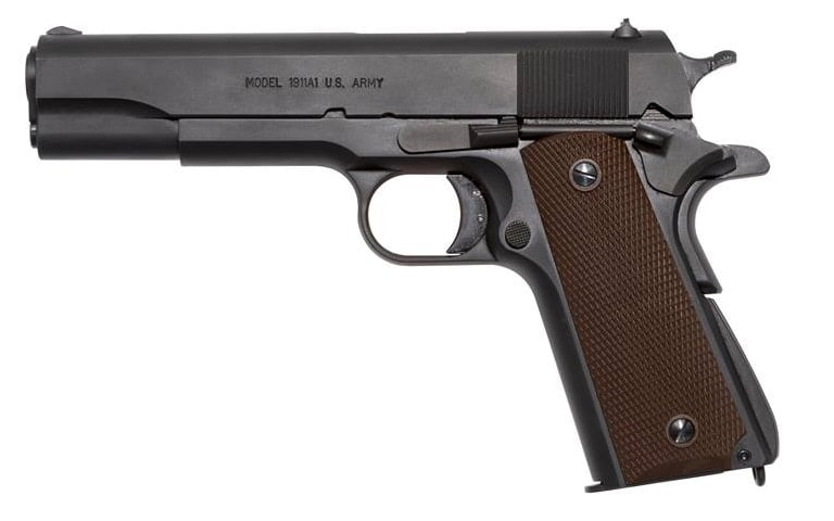 Thompson Auto-Ordnance swaps up their 1911A1 game with a 9mm