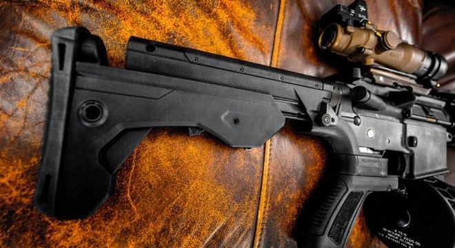 Columbus is prohibited from enforcing their local bump stock ban until at least July 9 (Photo: Slide Fire Solutions)