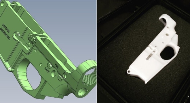 While Defense Distributed made headlines by making a plastic 3-D printed single-shot pistol in 2013, the company has moved on from there and now plans to offer nearly a dozen files including those for AR-15s. (Photos: DefDist)