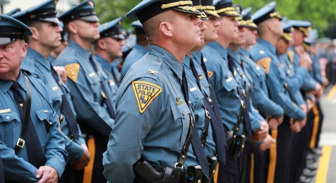 """The bill clarifies existing law on when an officer can possess and carry a """"large capacity magazine"""" capable of holding more than 10 rounds. (Photo: New Jersey State Police)"""