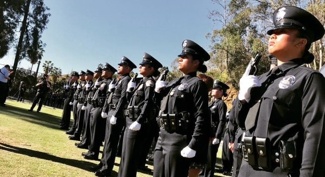The Los Angeles Police Department has the largest reserve officer unit in the state. (Photo: LAPD)