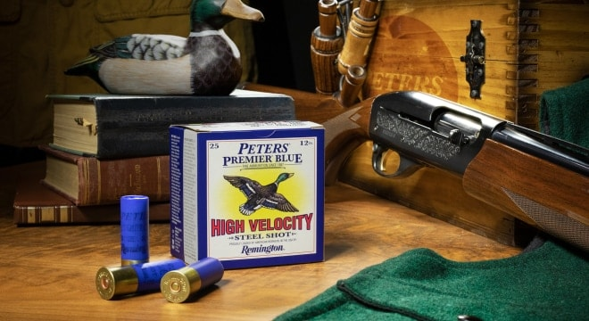 The new steel shot shells, aimed at waterfowlers, come in BB, 2, 3, and 4 sizes. (Photo: Remington)