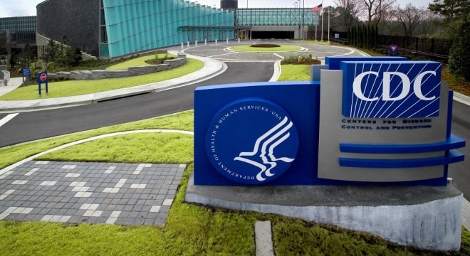 """The exterior of CDC′s """"Tom Harkin Global Communications Center"""" located on the organization′s Roybal Campus in Atlanta, Georgia. (Photo: James Gathany/CDC)"""