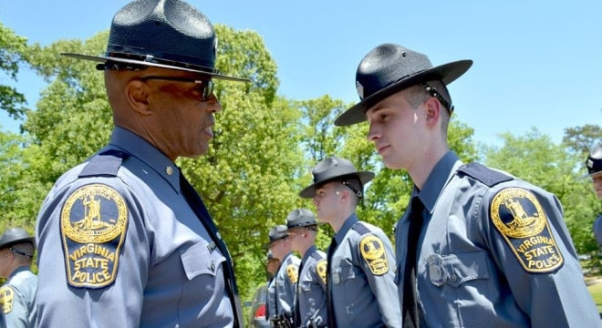 The Virginia State Police, established in 1932, is comprised of three bureaus, with over 2,100 sworn troopers and special agents. (Photo: VSP)