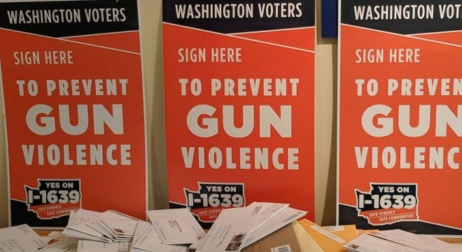 The state's high court said this week that opponents to a proposed ballot initiative can't challenge the petition process used by the gun control effort's organizers. (Photo: Alliance for Gun Responsibility)