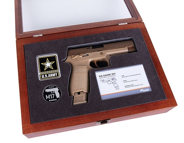 Sig Sauer to release 5,000 M-17 commemorative edition