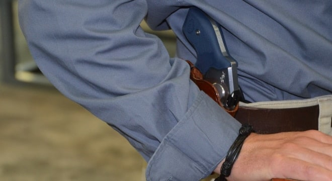 Discussing a legal case that upholds the right to open carry a gun in public (VIDEO)