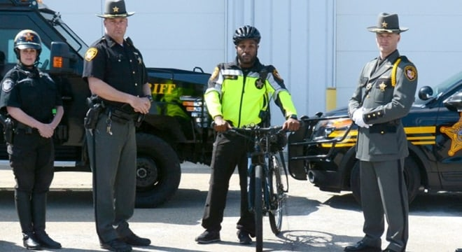The Franklin County Sheriff's Office has over 1,000 employyes in a wide range of roles, and recently chose a trio of Sigs to equip their force. (Photo: FCSO)
