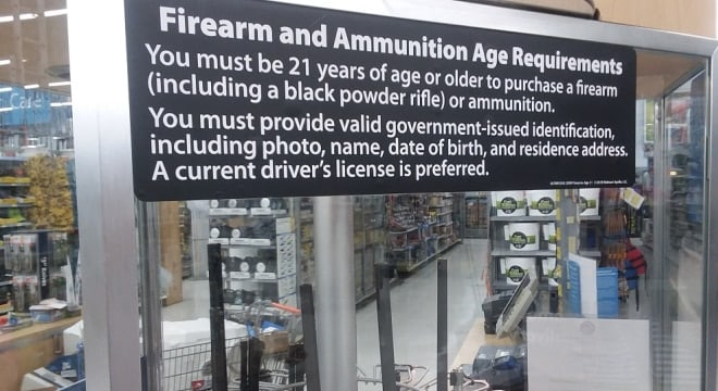 Earlier this year Walmart raised the minimum age for gun sales to 21 in a policy shift but in turn opened themselves to age discrimination complaints. (Photo: Chris Eger/Guns.com)