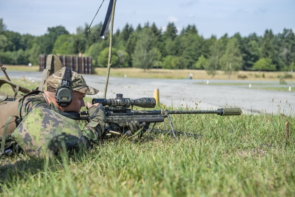 36 Sniper teams from 19 countries gathered to see who was best