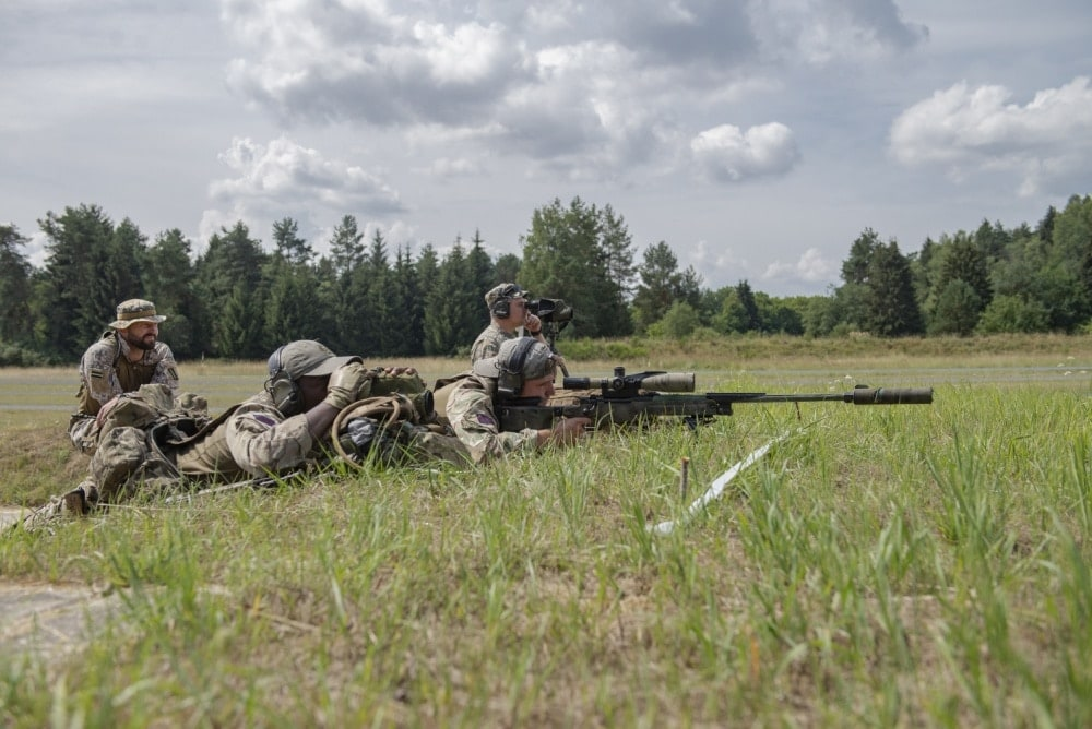 36 Sniper teams from 19 countries gathered to see who was