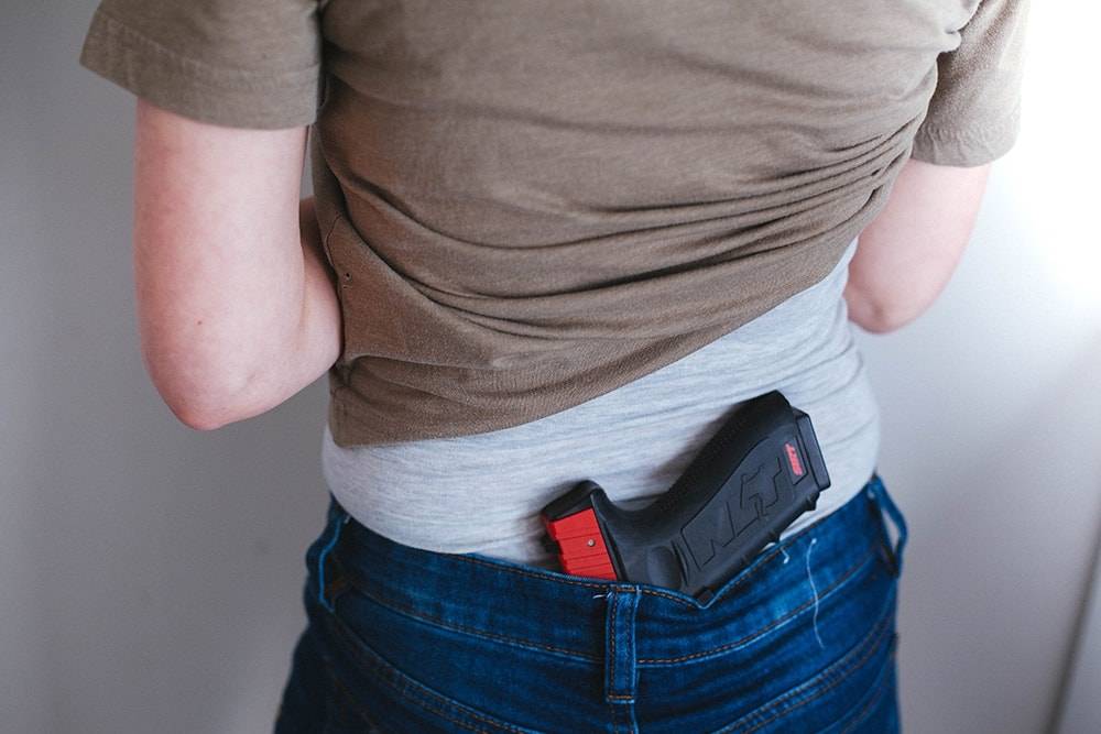 Why it's time to ditch small of back carry