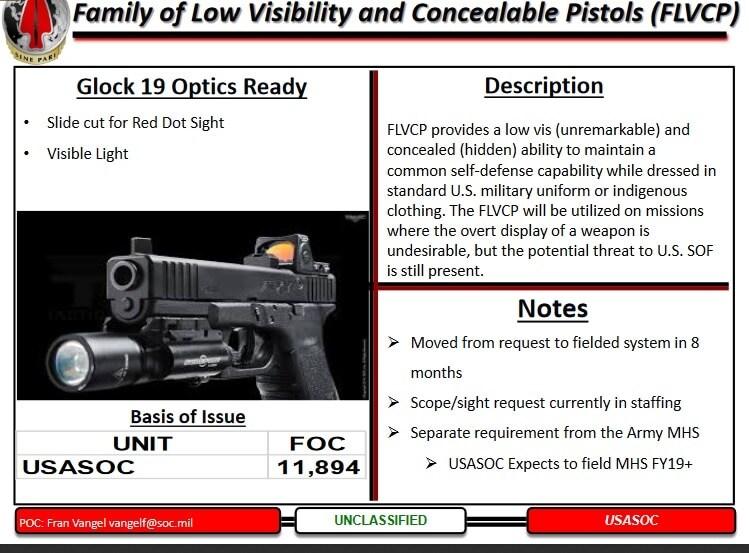 Trijicon picks up $7 million SOCOM handgun reflex sight contract