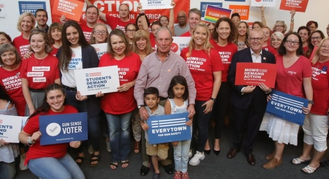 Former New York Mayor Micheal Bloomberg formed Everytown as Mayors Against Illegal Guns in 2006 and, largely from his own funds, supports its work today with an umbrella that includes groups such as Moms Demand Action and Students Demand Action. (Photo: Micheal Bloomberg)