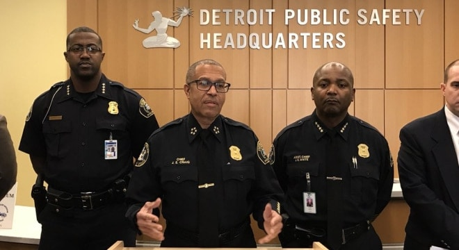 Chief James Craig has been the head of the Detroit Police Department since 2013. (Photo: DPD)