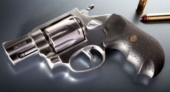 The warning involves guns made between 2005 and 2017 and covers models R351, R352, R461, R462, R851, R971, and R972 with serial numbers beginning with the letter Y, Z, or A through K. (Photo: Rossi)