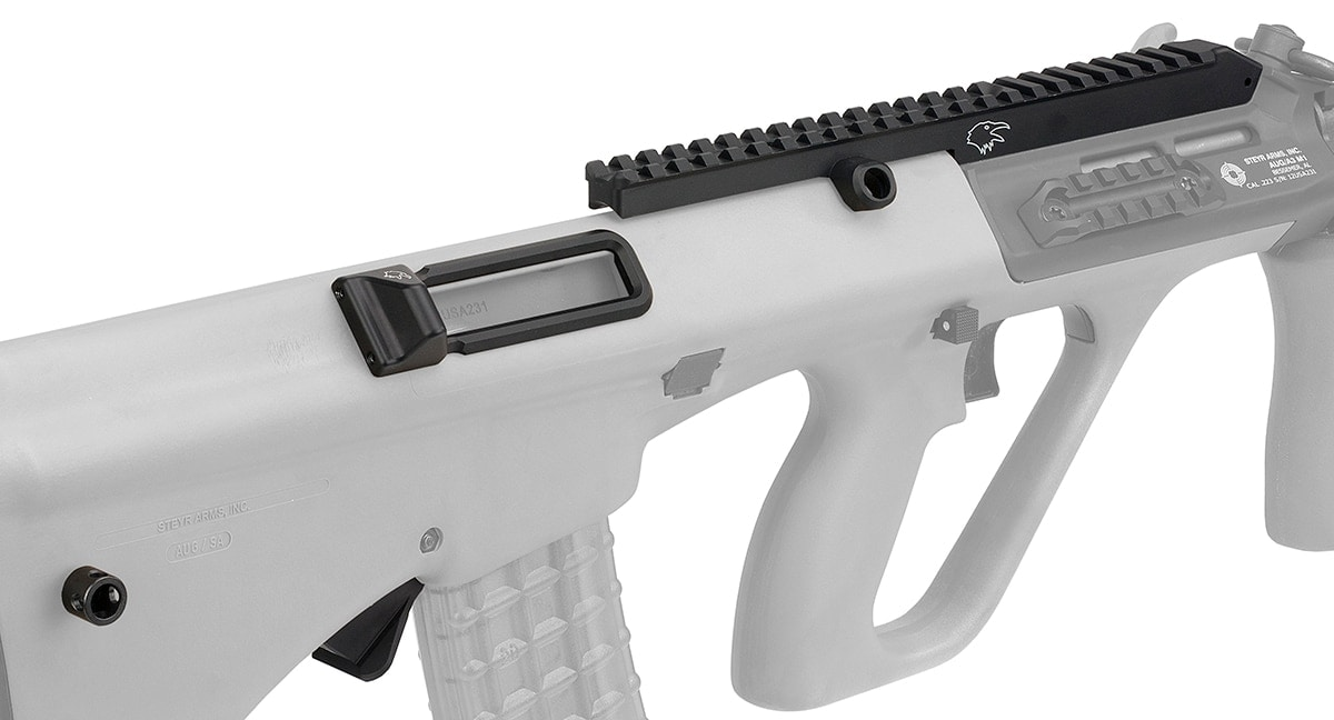 Steyr Arms, Corvus Defensio team up for AUG enhancement parts