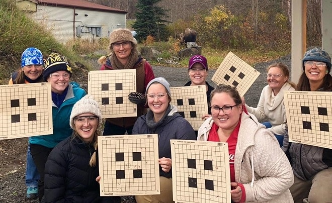 Alaska is seeing increasing numbers of female hunters (Photo: Becoming an Outdoors-Woman)