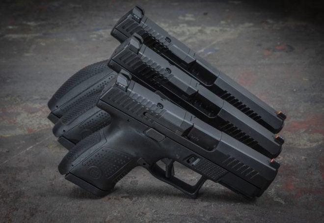 CZ introduces trio of new optics-ready P-10 models (VIDEO) - Guns com