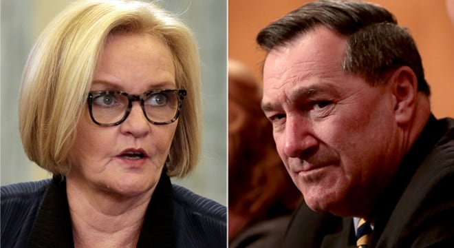 Guns add to debate in key races for U.S. Senate seats from Indiana, Missouri (VIDEOS)