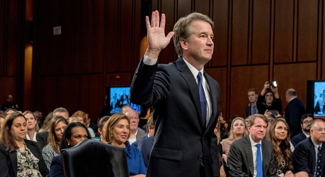 Judge Brett Kavanaugh nomination to replace Supreme Court Justice Antony Kennedy was reported out of committee last week and, pending a week-long limited FBI investigation into his background, will go for a vote in the full Senate soon. (Photo: Senate Judiciary Committee)