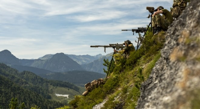 Going vertical: NATO snipers getting some high-angle shooting practice (PHOTOS)