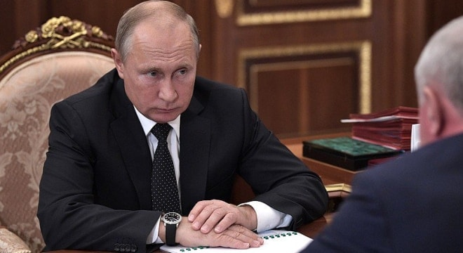Russian President Vladimir Putin is a fan of more gun control. (Photo: Russian President's office)