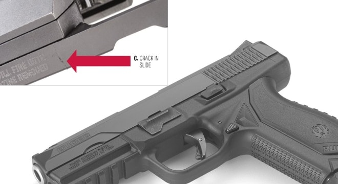 Ruger issues safety bulletin on American Pistol over slide cracks