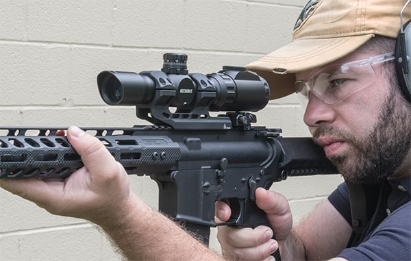 Leaper's offers new UTG 1-8x28 MRC Scope with BG4 Reticle