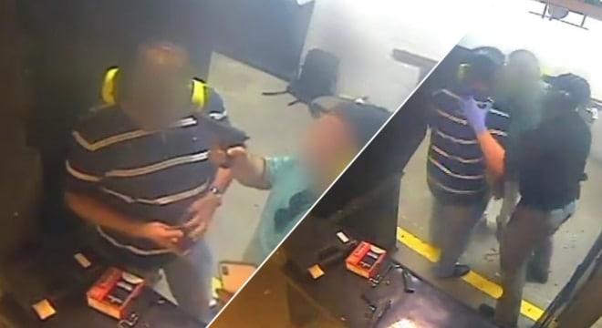 Unsafe selfies earn pair lifetime ban from Texas gun range (VIDEO)