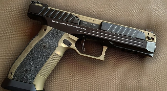 Up-close with the Laugo Arms Alien pistol (VIDEOS)