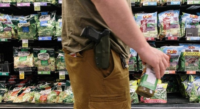 Blue states, gun control groups pile on to overturn open carry legal win